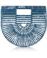 Cult Gaia | Lagoon Acrylic Mini Ark Bag | Lyst
