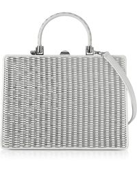 Rodo - White Nappa Leather Satchel Bag - Lyst