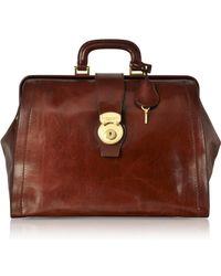 The Bridge - Capalbio Genuine Leather Doctor Bag - Lyst