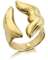Bernard Delettrez - Mouth Bronze Ring - Lyst