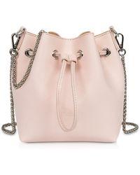 74396dec40d8 Lancaster Paris - Treasure And Annae Leather Mini Bucket Bag - Lyst