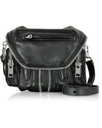 Alexander Wang - Black Nappa Leather Micro Marti Shoulder Bag - Lyst