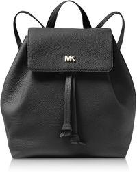 Michael Kors - Junie Medium Pebbled Leather Backpack - Lyst
