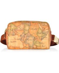 Alviero Martini 1A Classe - Geo Classic Coated Canvas Belt Bag - Lyst