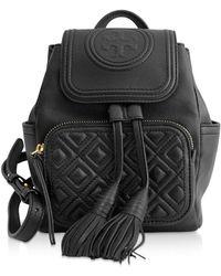 Tory Burch - Fleming Mini Backpack - Lyst