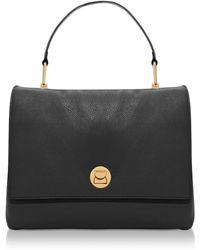 Coccinelle - Grainy Leather Large Liya Satchel Bag - Lyst