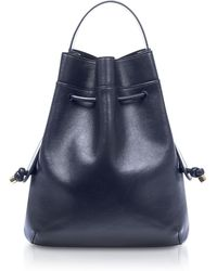 meli melo - Briony Regal Blue Nappa Leather Backpack - Lyst