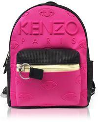 KENZO - Fuchsia Large Kombo Backpack - Lyst