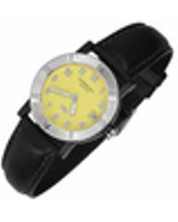 Raymond Weil | Parsifal W1 - Women's Yellow Stainless Steel & Leather Date Watch | Lyst