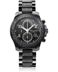 Thomas Sabo - Glam Ceramic Women's Chronograph Watch W/crystals - Lyst