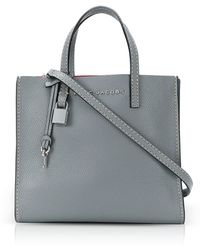 Marc Jacobs - Grainy Leather The Mini Grind Tote Bag - Lyst