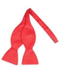 FORZIERI - Polkdot Silk Self-tie Bowtie - Lyst