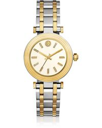 Tory Burch - The Classic T Two Tone Women's Watch - Lyst