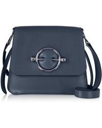 JW Anderson - Smooth Leather Disc Bag - Lyst