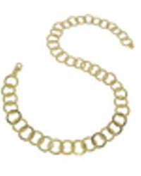 Torrini - Tuscania - 18k Yellow Gold Large Chiselled Chain - Lyst