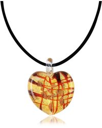 Antica Murrina - Passione - Murano Glass Heart Pendant - Lyst