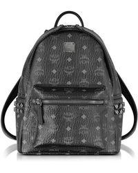 MCM - Stark Black Small Backpack - Lyst