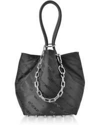 Alexander Wang - Black Aw Signature Roxy Soft Small Tote Bag - Lyst
