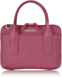 Giorgio Fedon | Bubble Double Handles Mini Bag W/shoulder Strap | Lyst