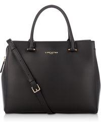 Lancaster Paris - Camelia Smooth Leather Top Handle Satchel Bag - Lyst