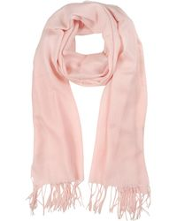 Mila Schon - Light Pink Wool And Cashmere Stole - Lyst
