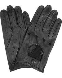 b2e20b49e74169 FORZIERI - Herrenhandschuhe aus italienischem Leder in schwarz - Lyst