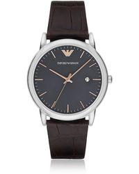 Emporio Armani - Ar1996 Luigi Men's Watch - Lyst