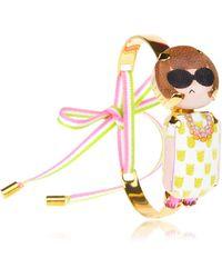 Bijoux De Famille - Anna Mini Choker Bracelet - Lyst