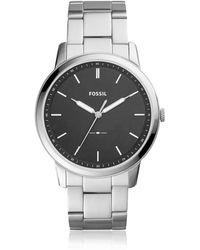 Fossil - Fs5307 The Minimalist 3h Men's Watch - Lyst