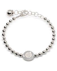 Rebecca - Boulevard Stone Rhodium Over Bronze Bracelet W/stones - Lyst