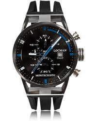 LOCMAN - Montecristo Stainless Steel & Titanium Men's Chronograph Watch - Lyst