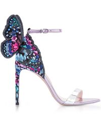 Sophia Webster - Leather Chiara Butterfly Sandals 100 - Lyst