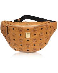 MCM - Cognac Stark Medium Belt Bag - Lyst