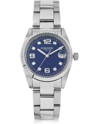 FORZIERI - Sabina Silver Tone Stainless Steel Women's Watch - Lyst