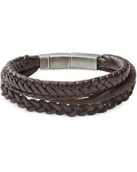 Fossil - Jf85296040 Vintage Casual Men's Bracelet - Lyst