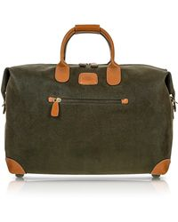 Bric's | Life - Olive Green Micro Suede 18'' Carry-on Holdall | Lyst