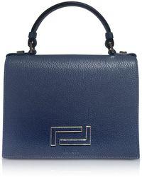Lancel - Pia Grained Leather Flap Satchel Bag - Lyst