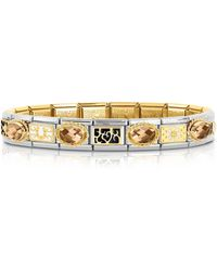Nomination - Classic Elegance Gold And Stainless Steel Bracelet - Lyst