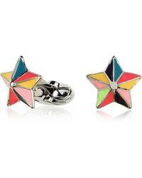 Paul Smith - Multicolor Star Cufflinks - Lyst