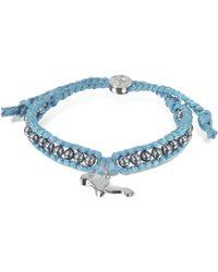 Sho London | Manatee Friendship Silk Bracelet | Lyst