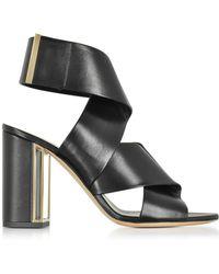 Nicholas Kirkwood - Black Nappa Leather Nini Sandals - Lyst