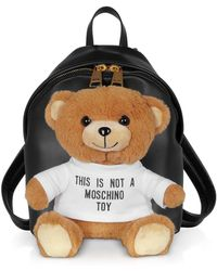 Moschino - Teddy Soft Toy Mini Backpack - Lyst