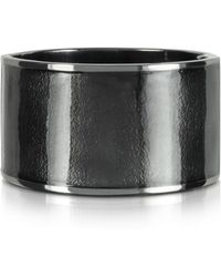 DSquared² - Icon Brass And Enamel Armlet - Lyst