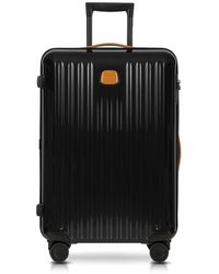 Bric's - Capri Black/tobacco Polycarbonate Medium Trolley - Lyst