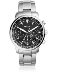 Fossil - Goodwin Chronograph Stainless Steel Men's Watch - Lyst