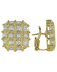 Torrini - Wallstreet - 18k Yellow Gold Diamond Earrings - Lyst