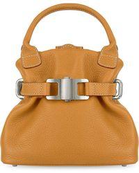 Buti - Camel Italian Pebble Leather Small Handbag - Lyst