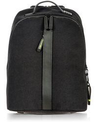 Bric's - Black Nylon And Leather Classic Backpack - Lyst