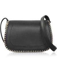 Carven | Mazarine Black Leather Crossbody Bag | Lyst