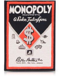 Olympia Le-Tan - Cotton And Wool Monopoly Parker Trading Game Book Clutch - Lyst